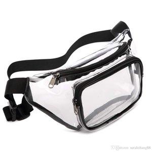 Fanny Pack PVC Clear Sport Pack Waterproof Waist Bag Stadium Approved Clear Purse Transparent Adjustable Belt Travel Bag for Women Men