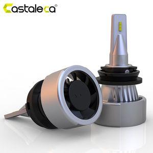 Castaleca H4 LED Car Headlight H7 H11 H1 9005 9006 H8 H9 led High Low Beam Vehicle Headlamp 2019 New 6000K Super Bright
