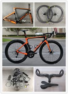 Disque noire orange Cipollini NK1K Disque Carbon Road complet Vélo R7020 R8020 GROUPSE CIPOLLINI CARBONE ROADDLE SELDLE