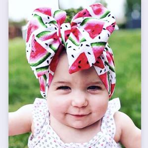 Vieeoease neonate fasce Natale Carino stampa dell'arco Fasce 2019 di modo del fiore del partito Neonato Bambino Accessori CC-626