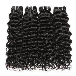 L Long Water Wave Human Hair Bundles Peruvian Hair Bundles Big Curly Water Wave Peruvian Hair Weaving Unprocessed Virgin Curly Bundles