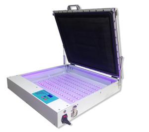 """LED Vakum UV Pozlama Ünitesi 50 cm x 60 cm (20 """"x 24"""") Ekran plakası vakum pozlama makinesi serigrafi UV pozlama ünitesi ekipmanları"""