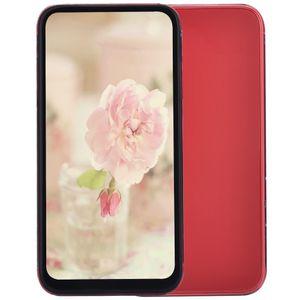 Cheap 6 colori Goophone i11 6.1 pollici Tutto schermo 3G WCDMA Quad Core MTK6580 1GB 4GB Android OS Face ID Wireless Charging 2 telecamere Smartphone