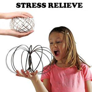 Magic Ring Toroflux Flowtoys Kinetic Spring Toy Amazing Flow Ring Toys Ring Funny Anti Stress Toy Flow Toys Dropshipping