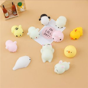 Colorful Adorable Cute Animal Hand Wrist Squeezing Fidget Toys Squishy Mini Stress Relief Squeeze Doll Slow Risng Venting Ball Squeezing toy