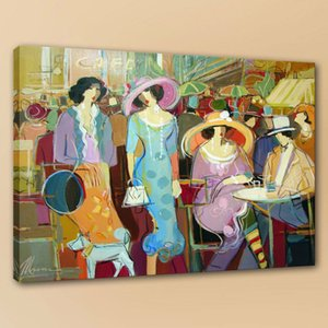 Itzchak Tarkay Frau Handgemalte Kunst Ölgemälde Auf Leinwand Wohnkultur Wandkunst Bild 190822