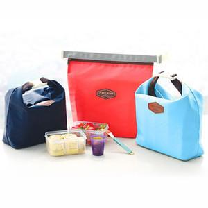 Açık Öğle Çanta Çocuk Piknik Çantası Kamp Öğle Kılıfı Bez Konteyner Isıtıcı Soğutucu Çanta Isı Yalıtımı Seyahat Carry Bags BH3172 TQ Carry