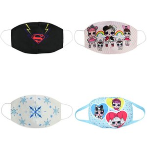 cloth face masks waterproof shoe covers for kids mask cotton face mouth mask cartoon youth children masks for kid pamuk maske