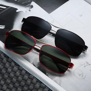 Nuovo metallo 553 Brand Sunglasses Fashion Trend Square Business Business Occhiali da sole Classici da uomo Classic Designer Designer Eyeglasses