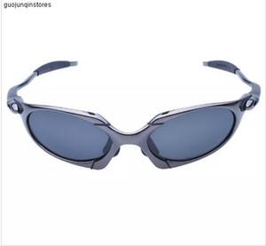 Vente en gros originaux Romeo hommes polarisants Cyclisme Lunettes de soleil Aolly Juliet X métal Sport équitation Lunettes Oculos Ciclismo Gafas extérieur des lunettes