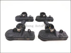 22853741 SET 4 TPMS Sensor For Buick Cadillac Chevy GMC Black