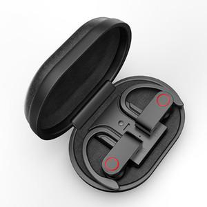 A9 TWS 5.0 auricular de Bluetooth auriculares inalámbricos deportes gancho para la oreja Auriculares IPX5 auriculares impermeables con la caja de carga micro libre del envío
