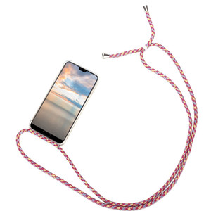 Case Bracelet Chaîne Cordon pour Huawei P40 P20 P30 Mate 30 20 10 Collier Lite Pro Longe Coque