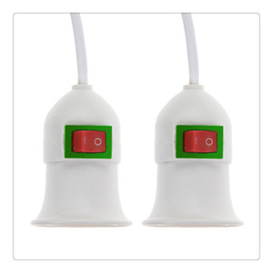 Pendant Lamp Holder E27 Screw Socket with Switch Two Phase Plug Red Black Switch 3 Meters High Quality