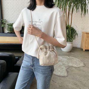 Pembe Sugao tasarımcı omuz çantası kadın crossbody çantalar saman çanta küçük kova çanta bayan rahat çantalar crossbody çanta BHP