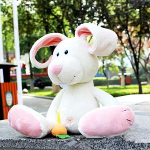 Coelho brinquedos Boneca Stuffed Plush Animais das crianças das crianças brinquedos de pelúcia presentes de aniversário coelho macio presente bonito Decor Pillow Natal