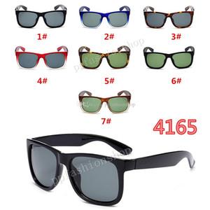 Marca 4165 Óculos de sol da moda para homens mulher clássico óculos de sol uv óculos de proteção reflexivo Eyewear