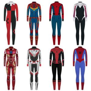 Erkek Kız Giyim Seti Marvel Avengers 4 Kostüm Sonbahar Çocuklar Superhero Spiderman Amerikan Kaptan Gençlik Giyim 7-13 yaşında ayarlar