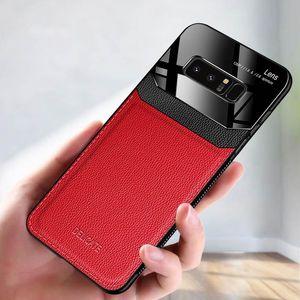 Кожаный Чехол для телефона Для Samsung Galaxy Note10 Note10Pro Note8 A7 2018 S10plus A20 / A30 A70 Жесткий чехол мода