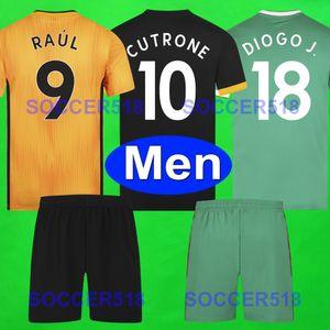 19 20 corredi lupi calcio RAUL NEVES 2019 2020 Wolverhampt Wanderers Camiseta futbol MOUTINHO PATRICIO Coady Saiss ADAMA DOHERTY NETO insiemi