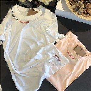 20ss neuer BBR-Designer-T-Shirt Frühling und Sommer Buchstabedrucken ursprünglichen Brauch losen beiläufige Frauen Kurzarm-T-Shirt 50 Stränge von Garn!