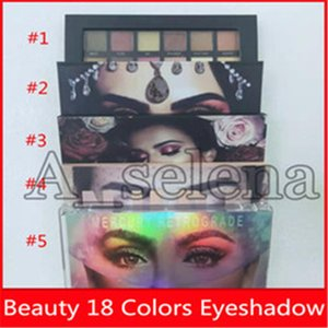 18 Renkler Göz dhl ücretsiz kargo gölge Göz Farı 2019 Damla nakliye Göz Makyajı Dokulu Nü Mercory Retrograd Güzellik Göz Makyajı