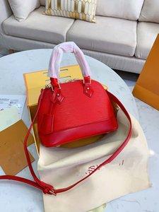 Feminino Shell Package New Lady Lazer Contratado ombro inclinado Bag Handbag Couro Bucket Mulher Designer ombro de Mulheres Bag