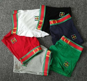 Breathable Men Underwears Soft Mens DesignerXXL Boxers Brief Letter Underpants For Mens Sexy Male Shorts1 Box