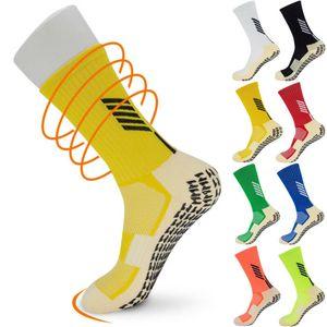 Unisex Nuevo Anti Slip fútbol calcetín antideslizante Calcetines de deporte de fútbol Atlético deporte ocasional de Skid deslizador para no adultos Mediano calcetines cortos