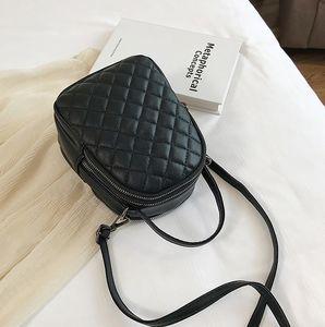 The new wave of 2019 autumn and winter Korean ling embroidery line mobile phone bag Joker single shoulder diagonal bag women