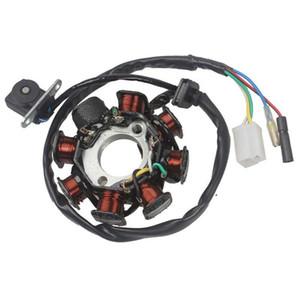 Статор зажигания Магнето 8 катушка 5 проводов для GY6 50CC 60CC 80CC ATV Scooter TAOTAO Paliden 150cc scooter