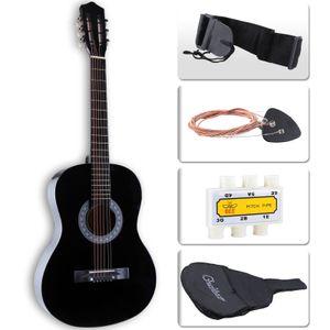 "38 ""Iniciantes Guitarra Acústica com Guitar Case, Strap, TunerPick Steel Strings"