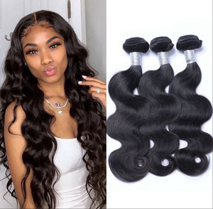 Body Wave Brazilian Hair Weave Bundles Virgin Human Hair Bundle 3 Bundles Natural Color Hair Extension 8-26 inch