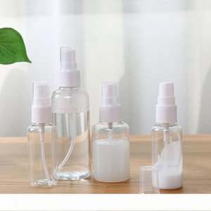 Spray Bottle 3oz 2oz 1oz Travel Plastic Empty Cosmetic Perfume Container With Mist Nozzle Bottles Atomizer Perfume Sample Vials DH1176