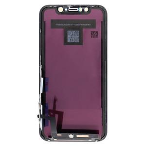 OEM الأصل شاشة LCD لفون XR الأسود LCD تعمل باللمس استبدال محول الأرقام الجمعية كاملة لا بكسل القتلى