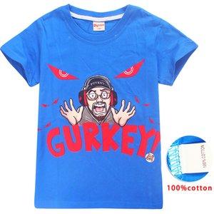 GURKEY Vision FUNnel Tees Kids Gaming Team 6-14t Colors FGTeeV Tee 4 Family Boys Girls Cotton T Shirts Shirts Designer Kids Clothes SS2 Bhaq