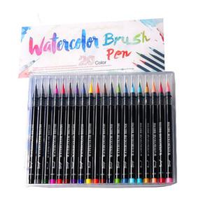 Nuovo Design Premium pittura della spazzola molle Pen Set Acquerello Arte Copic Markers penna migliore effetto Libri da colorare Manga Comic Calligraphy