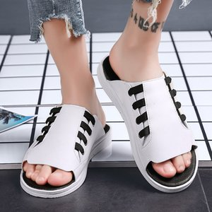 Summer Sandals 2019 New Style Summer MEN'S Shoes Trend Korean-style Outdoor Flat Sports Casual Sandals Slipper