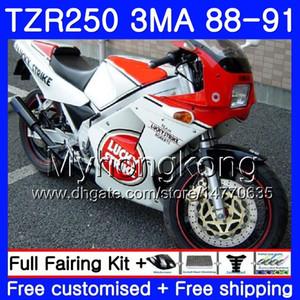 Kit para YAMAHA Lucky Strike TZR250RR TZR-250 TZR 250 88 89 90 91 Cuerpo 244HM.25 TZR250 RS RR YPVS 3MA TZR250 1988 1989 1990 1991 Carenado