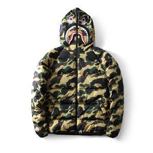 BAPE нового способа Mens Стилист моды Мужчины Женщины Толстовки Jacket Mens высокого качества вскользь Верхняя одежда Зеленый Синий оптовой