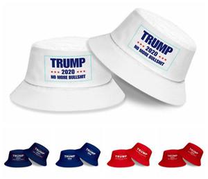 Donald Trump 2020 Pêcheur Hat garder l'Amérique Grands Bucket Chapeaux d'été Mode de protection solaire Casquettes RRA3136 Parti Chapeaux d'alimentation