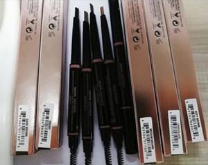 New Hot MAKEUP Enhancers per sopracciglia Skinny Brow Pencil oro Doppio attacco con pennello per sopracciglia 5 colori Spedizione DHL