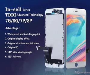 Orijinal 1: 1 Incelt LCD iPhone 7 7 Artı 8 8 Artı Ekran Dokunmatik Ekran Digitizer Meclisi Yedek Parçalar (Sürüm Sorunu Yok)