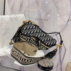 Hombro del diseñador bolsas de mensajero de alta calidad de las mujeres del bolso de una silla Boutique bolsa Bolsa de la compra cartera de la mujer Clásico Moda Bolsas
