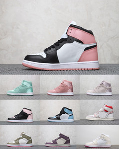 спортивные кроссовки 1 RET HIGH SOH HIGH OG PHANTOM Crimson Tint NRG RUST PINK SPIDERMAN GOLD TOP 3 Новичок года женская баскетбольная обувь