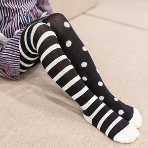 2020 Spring New Baby Pantyhose Children Girls Tights Cotton Toddler Girl Dot Stripes Boy Tights