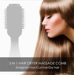 One Step Hair Dryer Brush Volumizer Ionic Blow Dryer Brush Electric Hot Air Brush 2 In 1 Hair Curler Iron Hair Tool
