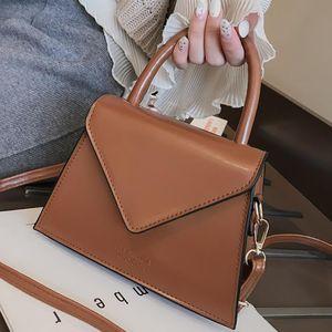Frauen-Schulter-Beutel Art und Weise beiläufiger Mini-Platz Tasche Tote-Handtaschen-Kurier-Beutel Crossbody Schultertasche Schulranzen # T2