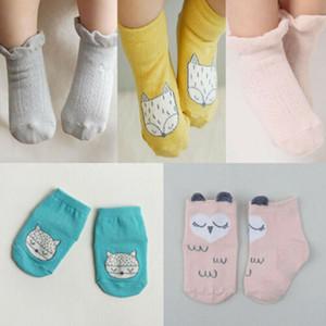 Bebé recién nacido algodón calcetines del cordón de la princesa peinaron calcetines infantil de las muchachas Bebé Calcetines