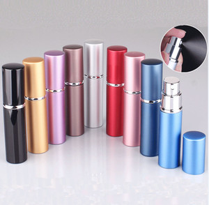 5ml Mini Perfume Spray Bottle Portable Refillable Atomizer Empty Bottles Essential Oils Diffusers Home Fragrances For Cosmetic HH9-2224